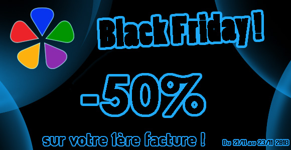newsletter banniere black friday POLY 3000